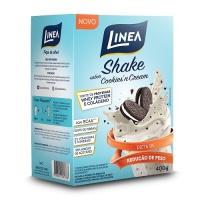 Shake sabor cookies'n cream Linea 400g