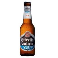 Cerveja Estrella Galicia 0,0% Álcool Long Neck 250ml