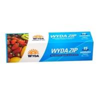 Saco hermético Zip Wyda pequeno 18 x 23 cm (15 unidades)