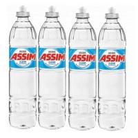 Detergente líquido clear Assim 500ml (4 unidades)