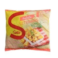 Batata Kids Letrinhas pré fritas congeladas Sadia 400g
