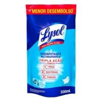Desinfetante Lysol Pureza do Algodão sachê 500ml