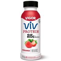 Iogurte Viv Protein 25g morango Vigor 250g