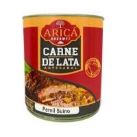 Carne suína artesanal na lata pernil  Aricá 900g