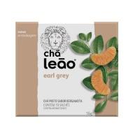 Chá Earl Grey Leão chá preto sabor bergamota 16g