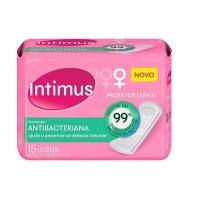Protetor diário Intimus Tecnologia Antibacteriana 15x1