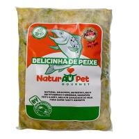Delicinha de Peixe NaturAu Pet gourmet 250g