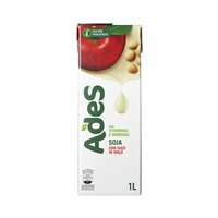 Bebida a base de soja Ades maçã 1lt.