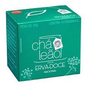 Chá erva doce Leão