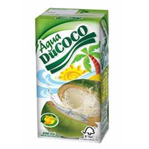 Água de coco Ducoco 200 ml.