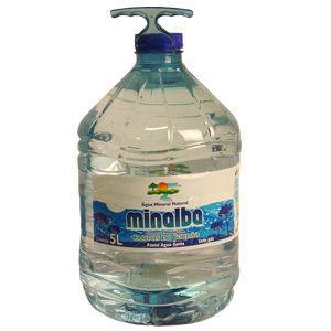 Água mineral sem gás Minalba 5lts.