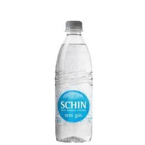 Água mineral sem gás Schin 500ml.