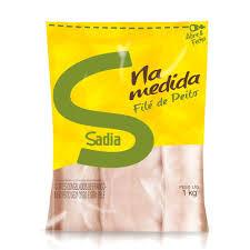 Filé de peito de frango congelado Sadia 1kg