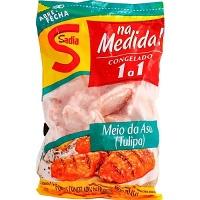 Meio da asa de frango aperitivo Sadia 1kg.